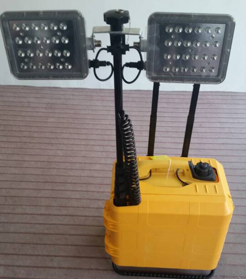 LED portable box-type multi-function lifting lamp SFW6121 cape silent power generation fire mobile lighting