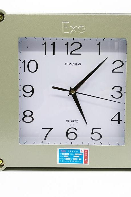 Explosion proof quartz clock Explosion-proof wall clock The needle explosion-proof electronic clock BKK