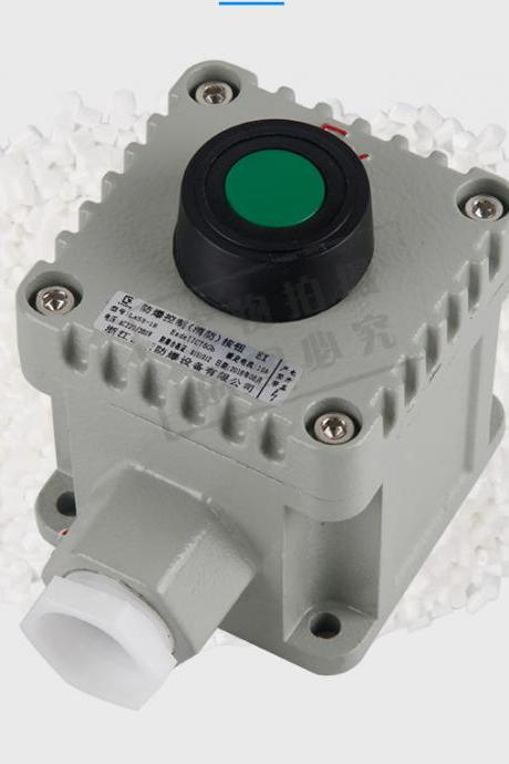 Explosion-proof control button CT6 explosion-proof switch box la53-1h self-locking explosion-proof button box